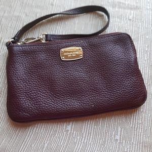 Micheal Kors wristlet large coin purse